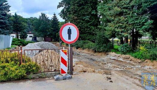 Będziemy budować mieszkania w Kamieńcu Ząbkowickim – i już remontujemy drogi
